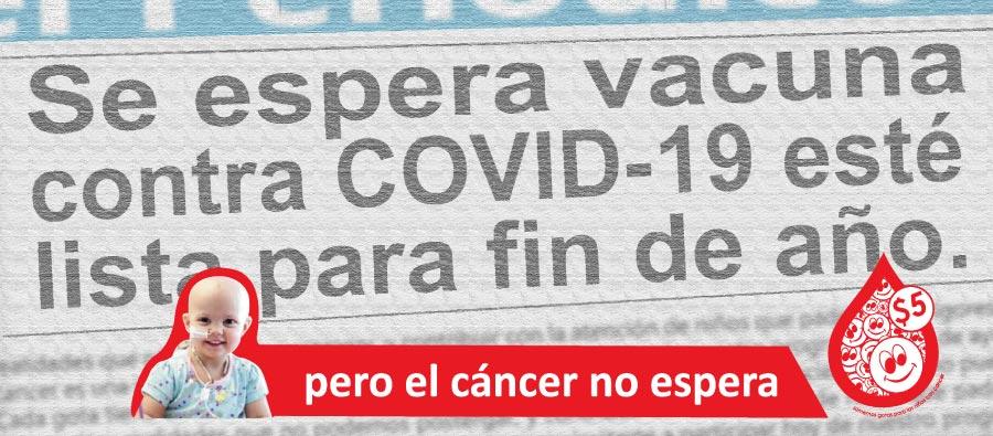 El cáncer no espera