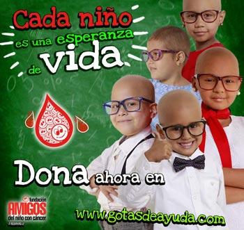 Cada niño es una esperanza de vida, Dona ahora en www.gotasdeayuda.com